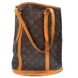 Authentic Louis Vuitton Bucket Bag Tote M42236